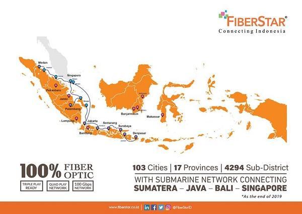 FiberStar Dukung Transformasi Digital, Hadirkan Broadband Infrastructure Berskala Nasional