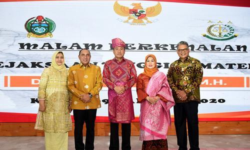 Gubernur Sumut  Sampaikan Tiga Harapan Masyarakat untuk Kajati Sumut yang Baru