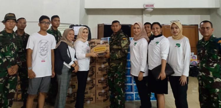 Perempuan Tani HKTI DKI Jakarta Berikan Bantuan untuk Korban Banjir