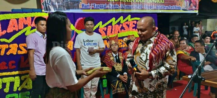 Bupati Langkat Berikan Bantuan Pada Pesta Tahunan Desa Parit Bindu