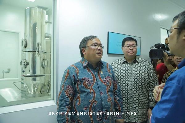 Kemenristek/BRIN Apresiasi Riset dan Pengembangan Obat Modern Asli Indonesia