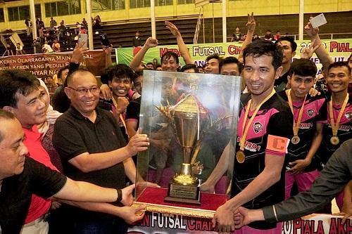 Komunitas Klub Futsal Nobatkan Akhyar Sebagai Bapak Futsal Kota Medan