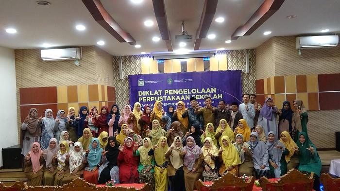 Selama 4 Hari, Guru PAI di Aceh Ikuti Teknis Pengelolaan Perpustakaan