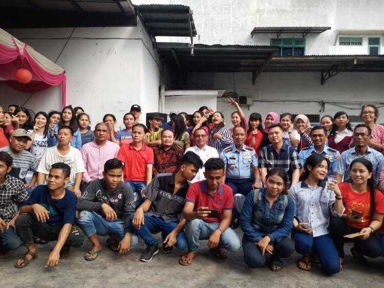 Plt Walikota Medan Hadiri Open House Tokoh Masyarakat Arman Chandra