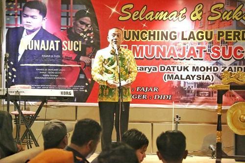Single Perdana Munajat Suci Launching di Medan