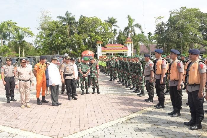 Kabupaten Deli Serdang Laksanakan Apel Siaga Bencana