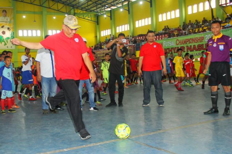 430 Peserta Rebut Piala Akhyar Nasution di Medan Futsal Championship 2020