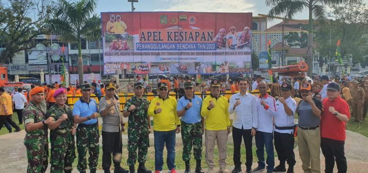 Pimpin  Apel Kesiapan Penanggulangan Bencana, Akhyar Nasution Imbau Stakeholder Optimalkan Mitigasi Bencana