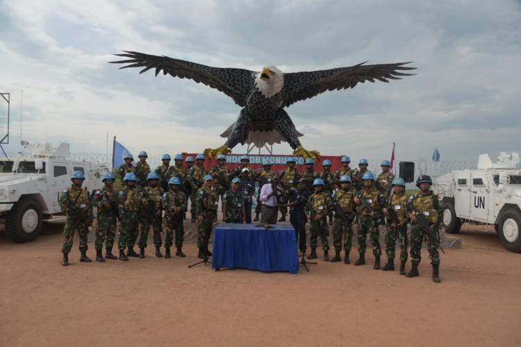 Satgas TNI RDB Kembali Peroleh 2 Pucuk Senjata
