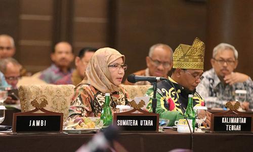Rakor DBH Kelapa Sawit, Pemprov Sumut Usulkan Revisi UU 33/2004