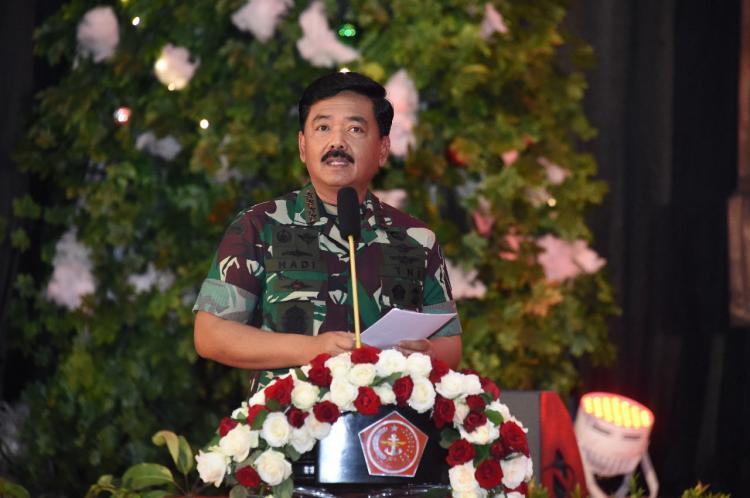 Panglima TNI : Natal Bersama TNI Membawa Pesan Damai