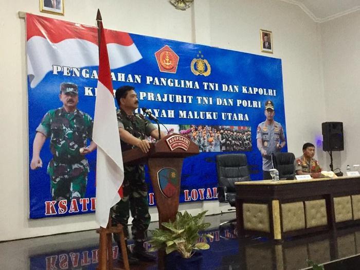 Panglima TNI: Sinergitas TNI-Polri Ciptakan Stabilitas Keamanan Nasional