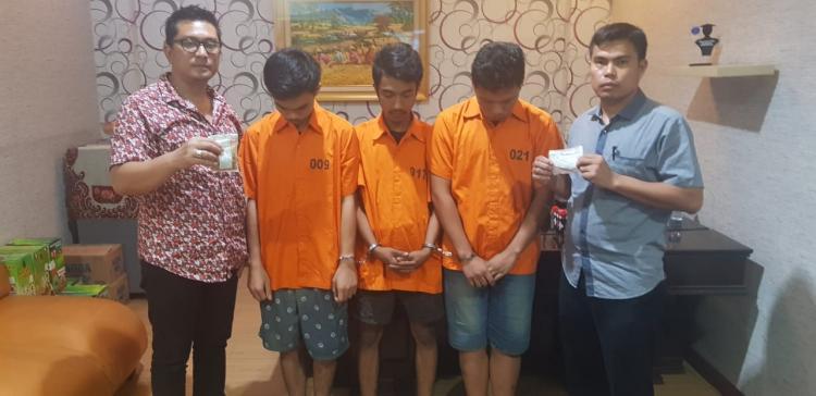 Polisi Tangkap Pengedar Pil Ekstasi di Jalan Jamin Ginting Medan
