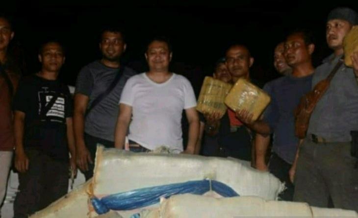 250 Kilo Ganja Kering Diamankan Polres Padangsidimpuan