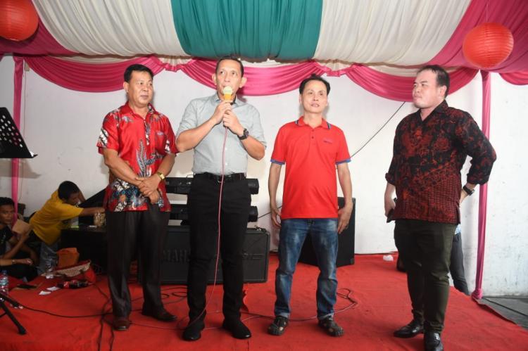 Pangdam I BB Hadir Pada Open House Tokoh Masyarakat Arman Chandra