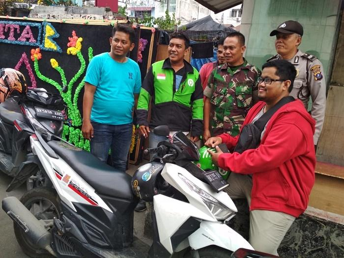 Kapolsek Medan Area PImpin Binluh Sumut Bersinar dan Bencana Alam