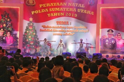 Pemko Medan Apresiasi Berlangsungnya Perayaan Natal Poldasu