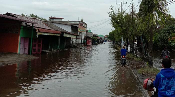 Kecamatan Medan Labuhan Banjir, 1.469 Rumah Terendam Air