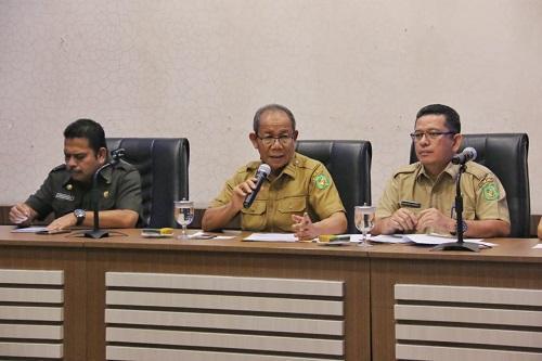Sospen Setda Kota Medan Data Ulang Penerima Dana Jasa Pelayanan