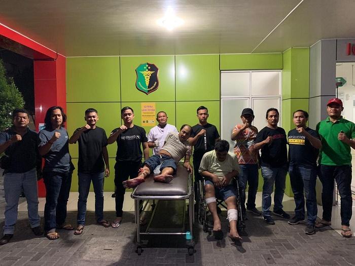Polrestabes Medan Tangkap Sindikat Spesialis Pecah Kaca Mobil, 2 Pelaku Ditembak