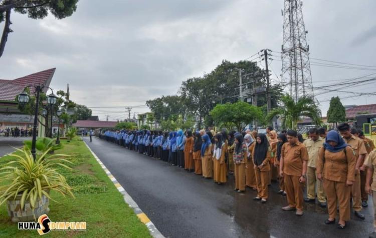 Pemko Padangsidimpuan Gekar Upacara Hari Kesadaran Nasional