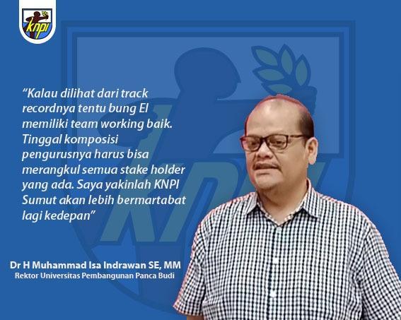 Rektor UNPAB: Kepemimpinan Bung El Adrian Shah Bawa KNPI Sumut Lebih Bermartabat