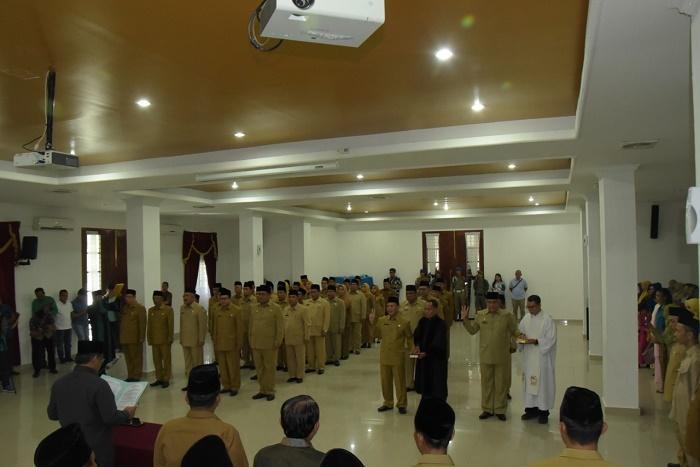 Wakil Bupati Lantik Pejabat Eselon II dan III Pemkab Deli Serdang