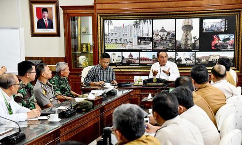 Antisipasi Penyebaran Coronavirus, Gubernur Sumut Instruksikan Pembentukan Tim Khusus
