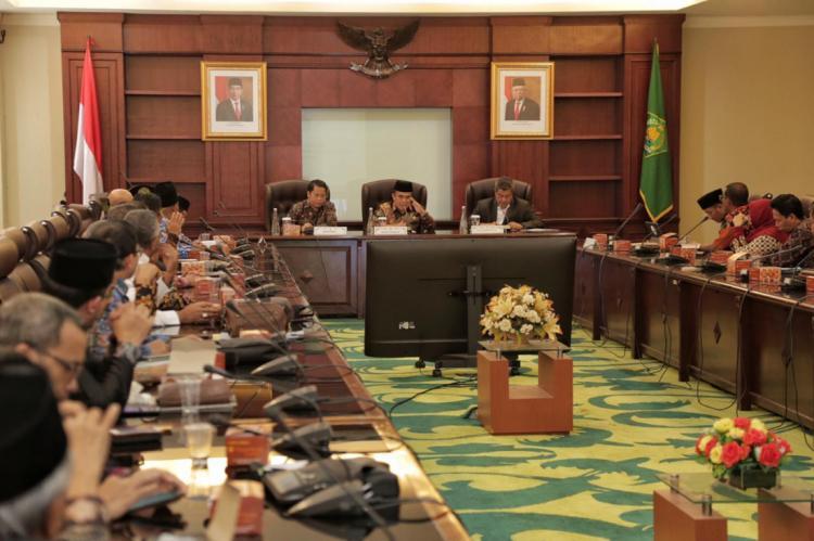 Menteri Agama Ingatkan Pimpinan PTKIN Cetak Generasi Unggul dan Nasionalis