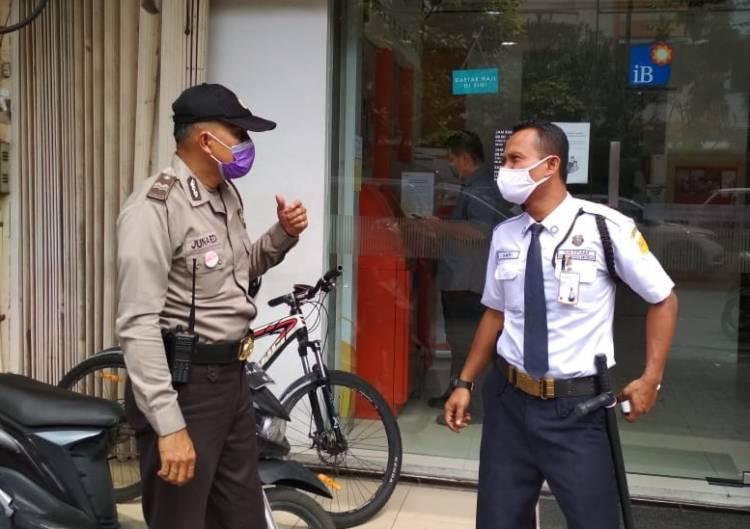 Cegah Penyebaran Covid-19, Polsek Medan Area Imbau Warga Patuhi Protokol Kesehatan
