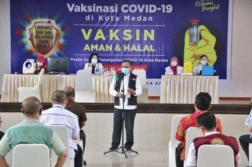 Hari Ini Dimulai Vaksinasi Covid-19 di Kota Medan