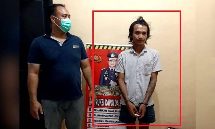 Kerap Mencuri, Polsek Perbaungan Tangkap 'Kerbo' dalam Rumah