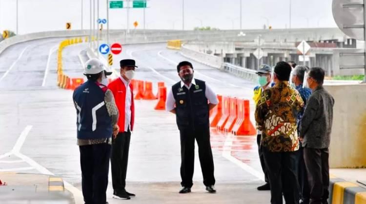 Presiden Resmikan Tol Trans Sumatera, Dari Bakauheni ke Palembang Kini Hanya 3,5 Jam Perjalanan