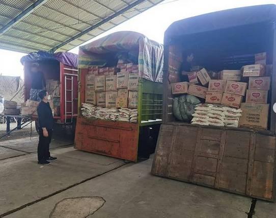 Peduli Korban Gempa Bumi di Sulbar, Kapolda Sumut Kirim Bantuan 7 Kontainer, dari Sembako Hingga Perlengkapan Bayi