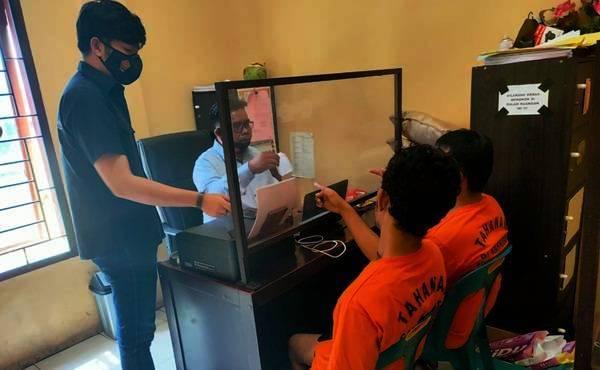 Sering Pesta Sabu di Ruangan RSUD Rantau Prapat, Dua Oknum Pegawai Rumah Sakit Diringkus Polres Labuhan Batu