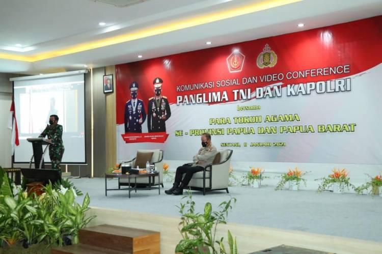 Panglima TNI dan Kapolri Kunjungan Kerja Pertama ke Provinsi Papua