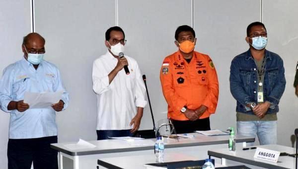Menhub Budi Karya Sumadi Beberkan Kronologis Sementara Jatuhnya Pesawat Sriwijaya SJY 182 Rute Jakarta-Pontianak