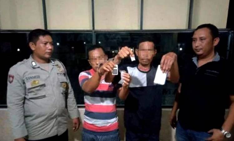 Polsek Pulau Raja Ungkap Kasus Sabu, Pengedar dan Pemakai Ditangkap