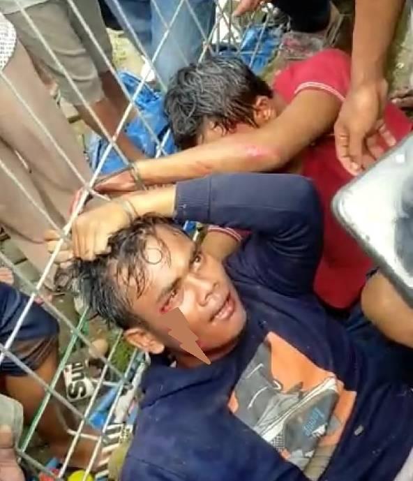 Gagal Jambret Ponsel, Dua Pencuri Diamuk Massa di Pasar 7 Simpang Jodoh Tembung
