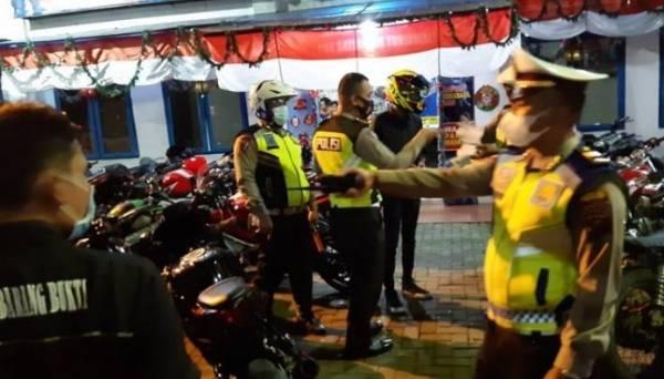 Razia Sepeda Motor, Satuan Lalulintas Polrestabes Medan Amankan 39 Knalpot Blong