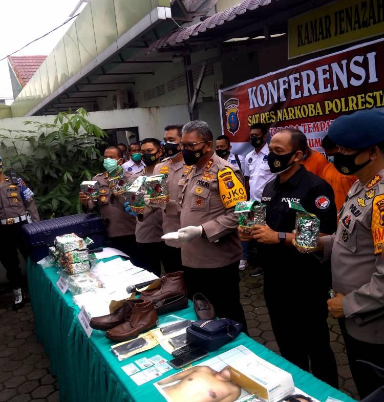 Gembong Narkoba Antar Provinsi Ditembak di Medan, Polisi Sita 26,9 Kilo Sabu