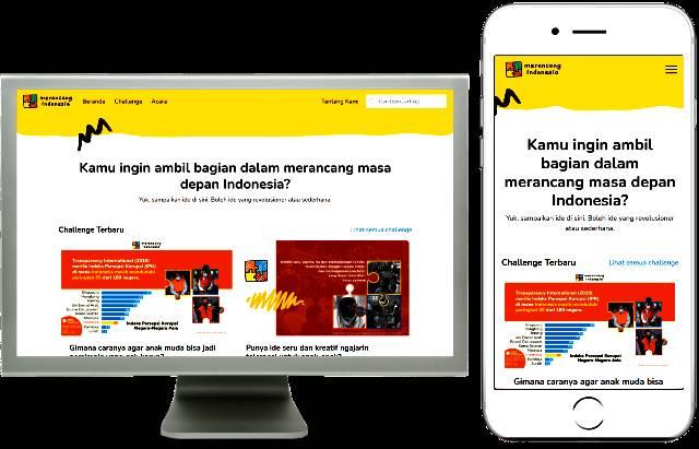 Generasi Muda Mari Ikut Rancang Indonesia di Merancang.id