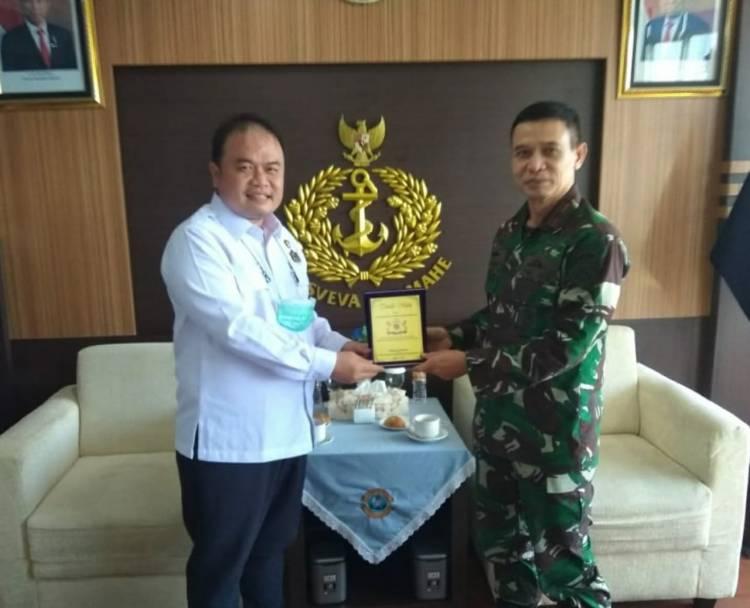 Pengurus Kadin Medan Kunjungi Mako Lantamal I Belawan