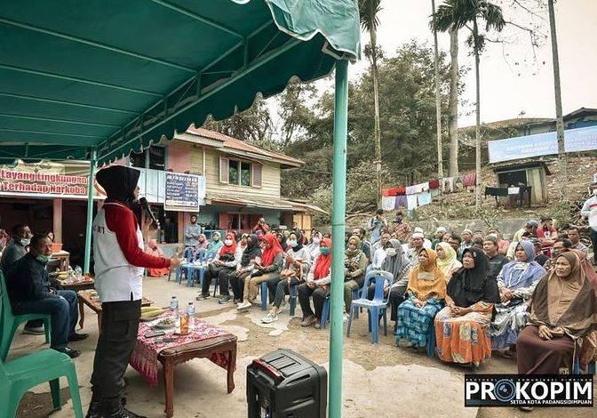 Berantas Narkoba, Walikota Bersama Kapolres Padangsidimpuan Silaturahmi dengan Masyarakat Silayang-Layang