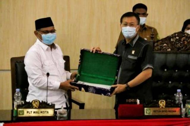 Akhyar Nasution Terima Laporan Hasil Reses Pertama DPRD Kota Medan, Tahun Kedua TA 2020 dari Dapil I s/d V