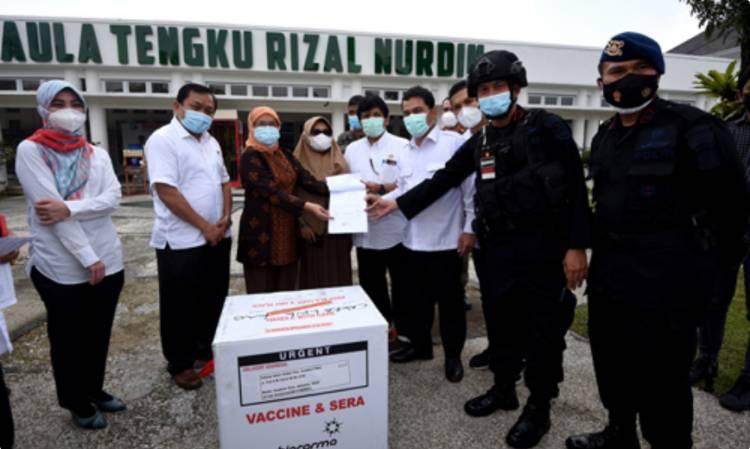 Sekdaprovsu Sabrina Terima 34.840 Vaksin Tambahan untuk Sumut