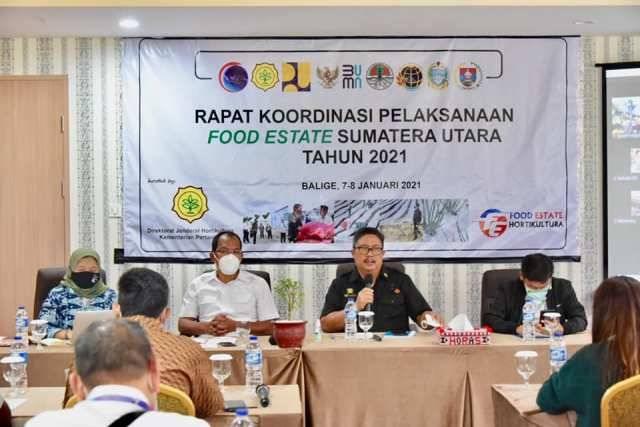 Bupati Humbahas Ajak Semua Lapisan Masyarakat Sukseskan Food Estate