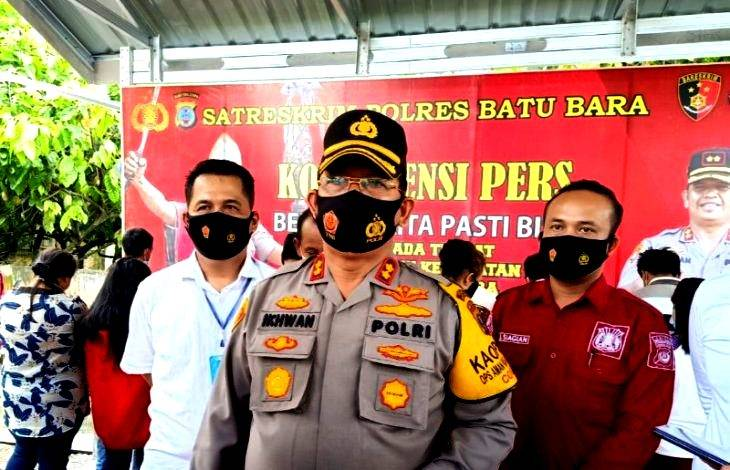 Penyelundupan 17 TKI Ilegal ke Malaysia Berhasil Digagalkan Polres Batubara