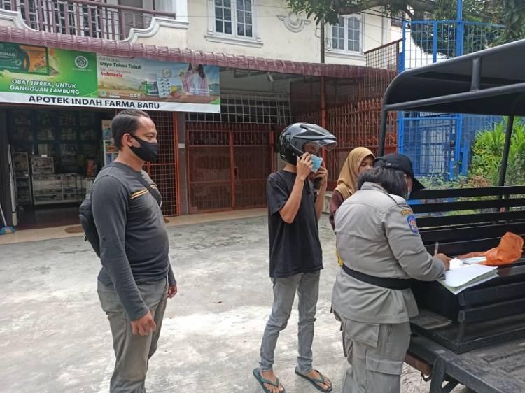 Langgar Prokes, 28 Orang Terima Sanksi Sosial dari Polsek Medan Timur