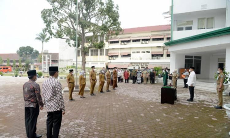 Kabiro Administrasi Pimpinan Kukuhkan Pejabat Pengawas Pemprov Sumut